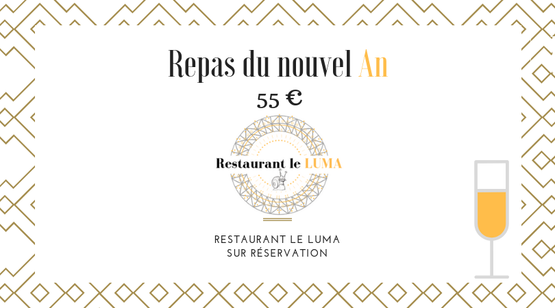 Menu du nouvel an 2019